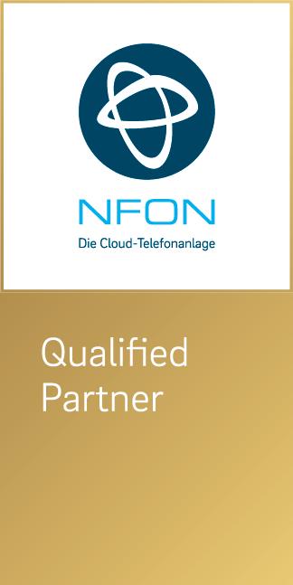 NFON Qualified Partner vertikal